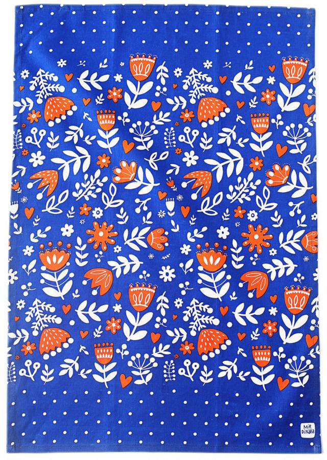 Blue Tulip Kitchen Towel 100% cotton