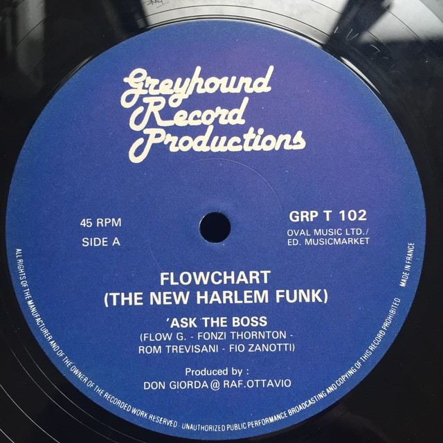 Flowchart (The New Harlem Funk) ‎– Ask The Boss