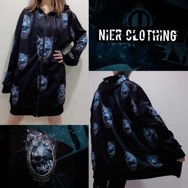LONG LENGTH ZIP OUTER【NieR MIRROR】