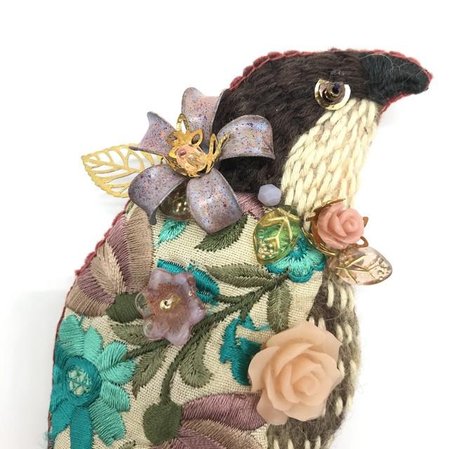 【IRODORI AZ】brooch 13 ハイタカ