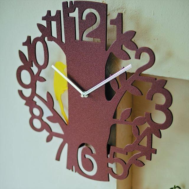 振り子時計 キツツキ Picus ~ピークス~ CL-5743 インターフォルム - メイン画像