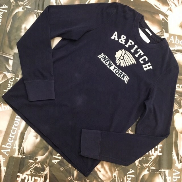 Abercrombie&Fitch MENS ロンT Lサイズ