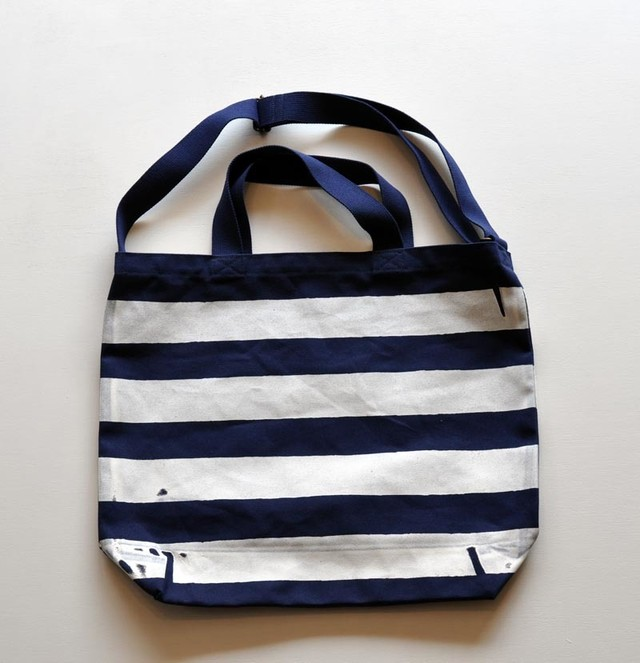 TACOMA FUJI RECORDS THE STRIPED TOTE