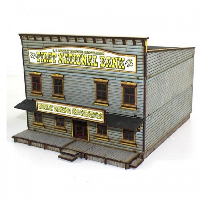 【予約発注】 DMH:   Feature Building 7: First National Bank 28S-DMH-115