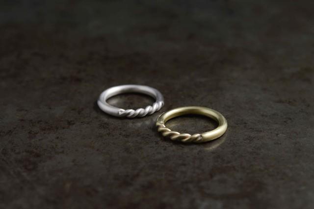 縒リング / brass[真鍮]