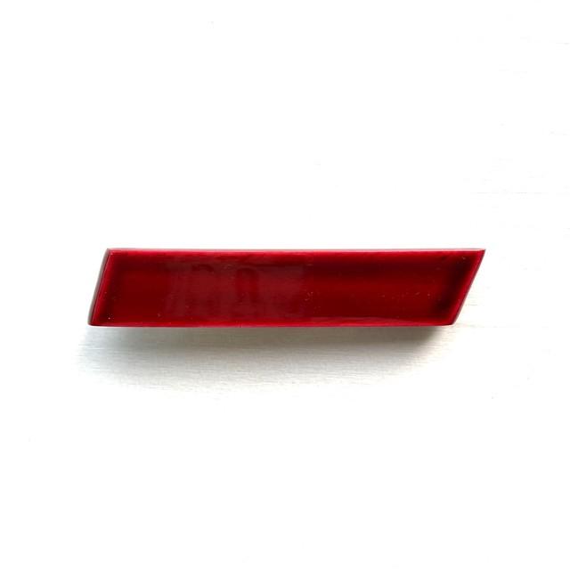 飛騨春慶塗 バレッタ mini 紅(B012)