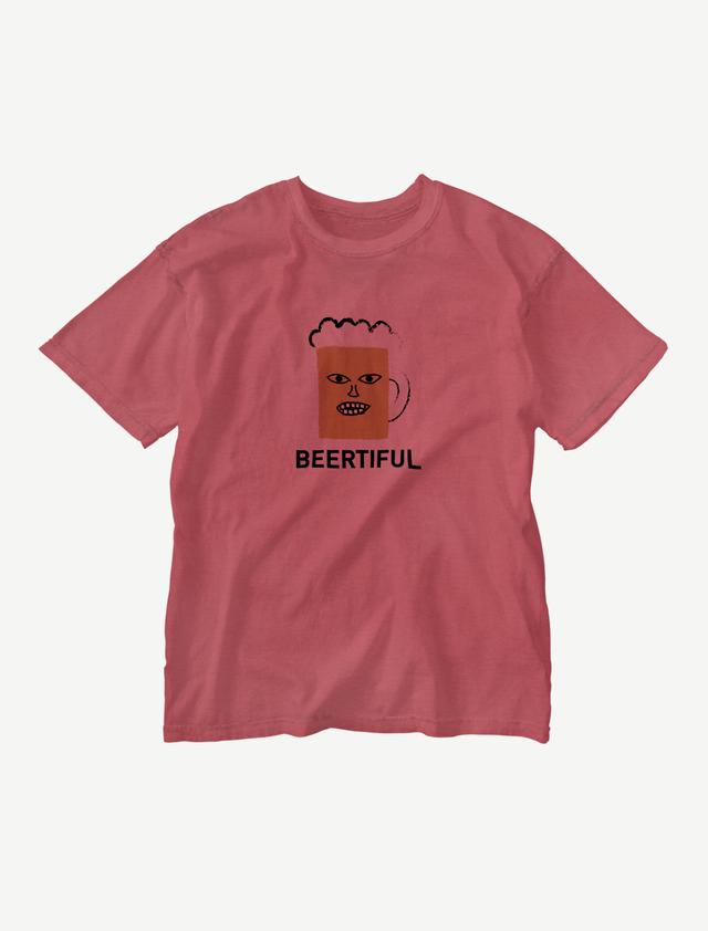 【BEERMAN】ウォッシュTシャツ