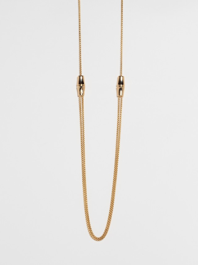 Bamboo Design Necklace / Gucci