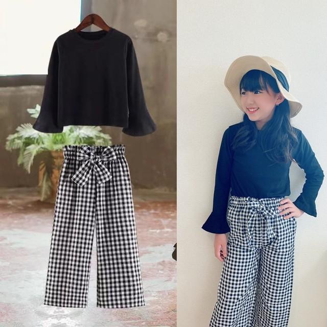 【子供服】女の子 セットアップ オシャレ キッズ 韓国 120 130 140 150 160