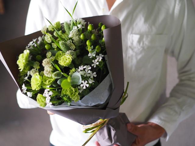 【bouquet】季節のお任せブーケ S ◆5月7.8.9着指定不可◆