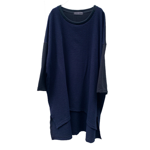 Slit-T-shirts1.2 (navy)