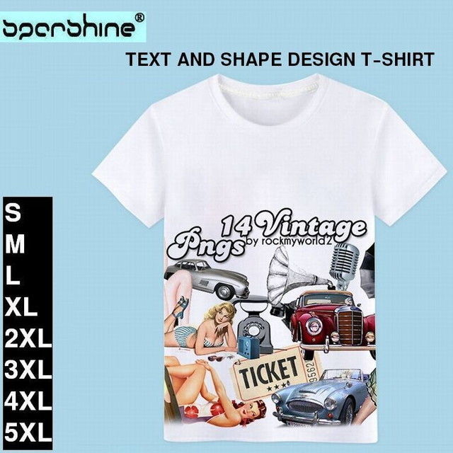 TEXT AND SHAPE DESIGN T-SHIRT / 半袖プリントTシャツ-ABYWLY-C-WHITE