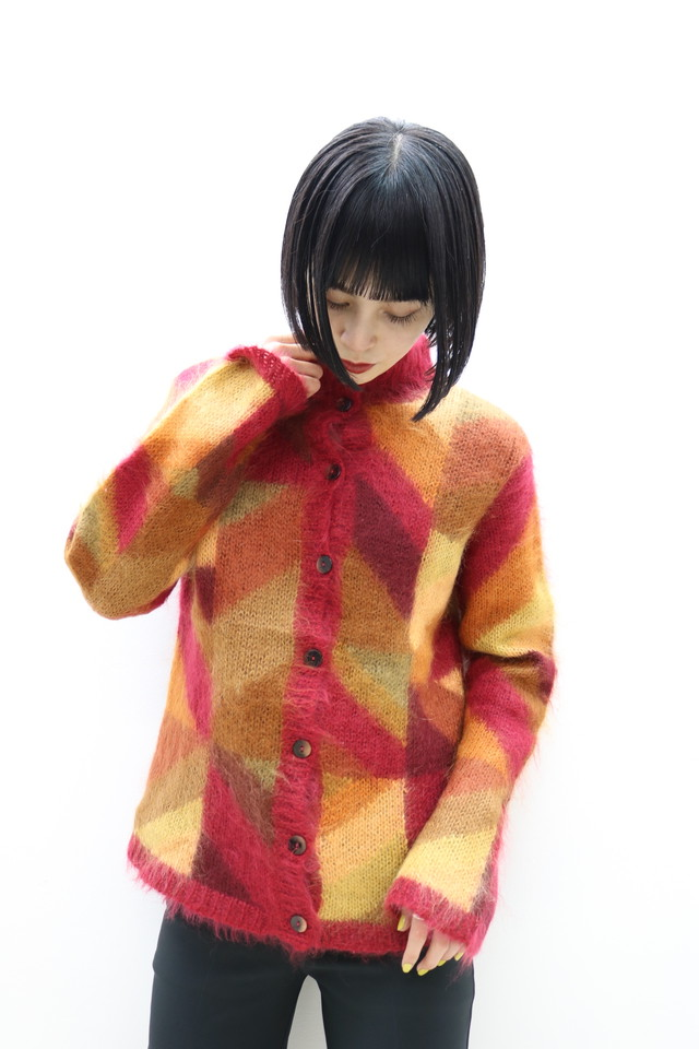 stand color design cardigan / TP11280008