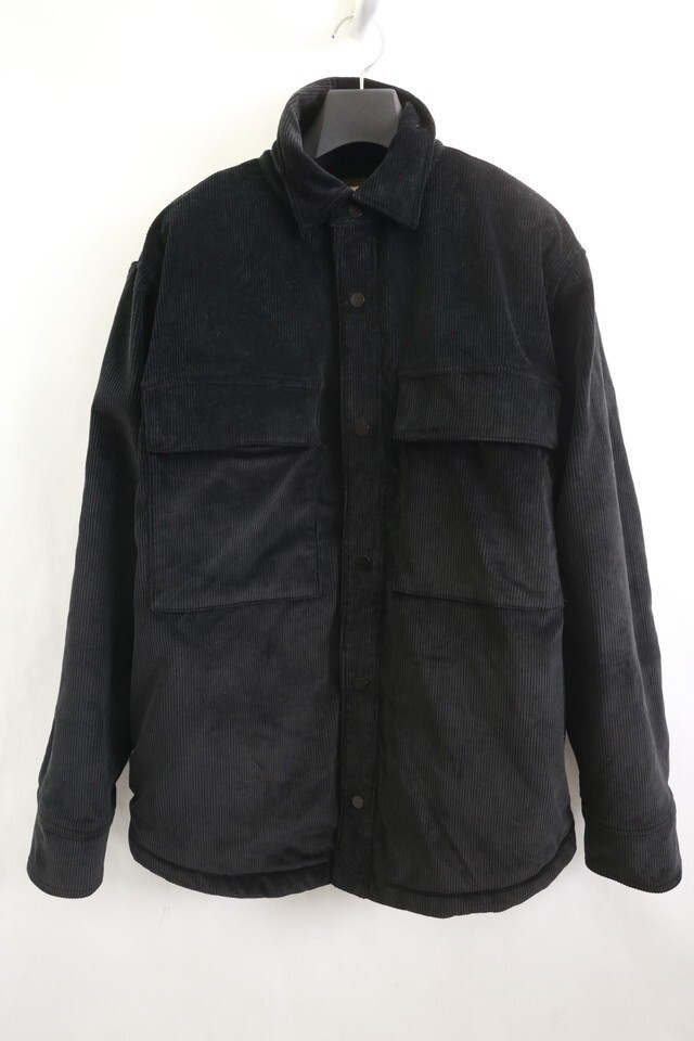 FEAR OF GOD SIXTH COLLECTION CORDUROY SHERPA LINED SHIRT BLACK S コーデュロイ ボア ジャケット 4305