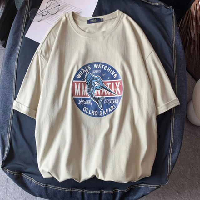 ソードフィッシュプリントTシャツ