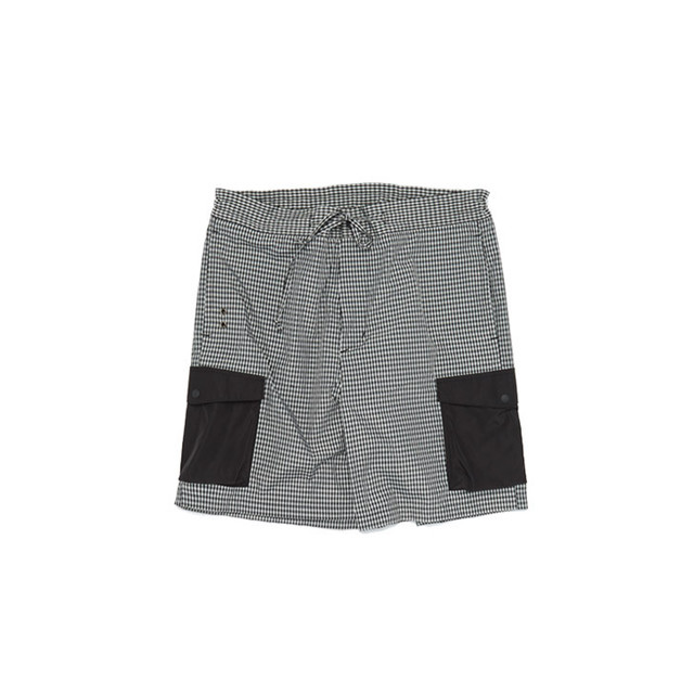 Daily Tied Cargo Shorts gingham check ハーフパンツ ショーツ