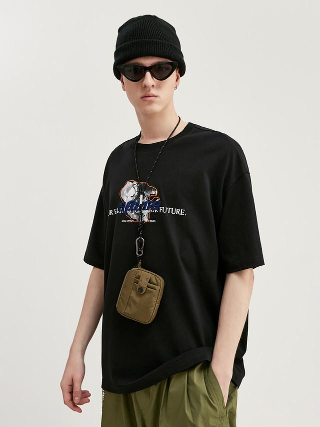 【即日出荷】SPACE Tシャツ 半袖 モノトーン
