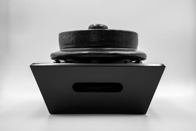 ◆受注生産◆  黒漆羽釜置台