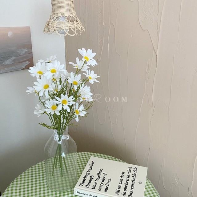 造花デイジー5本セット R1552