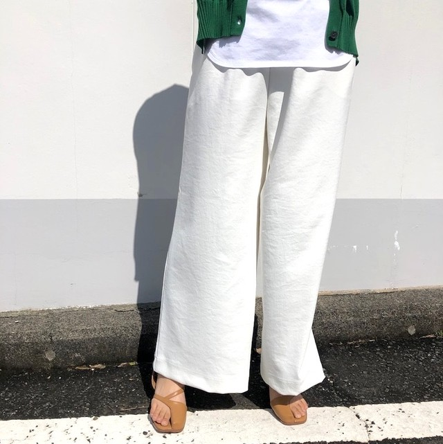 【 siro de labonte 】- 033301 - fuldal air wide pants