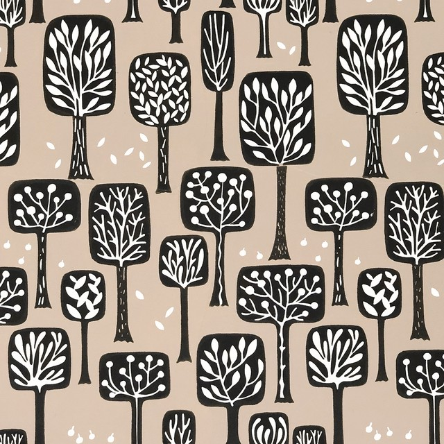 完売再入荷【Paperproducts Design】バラ売り2枚 ランチサイズ ペーパーナプキン CALGARY ブラウン