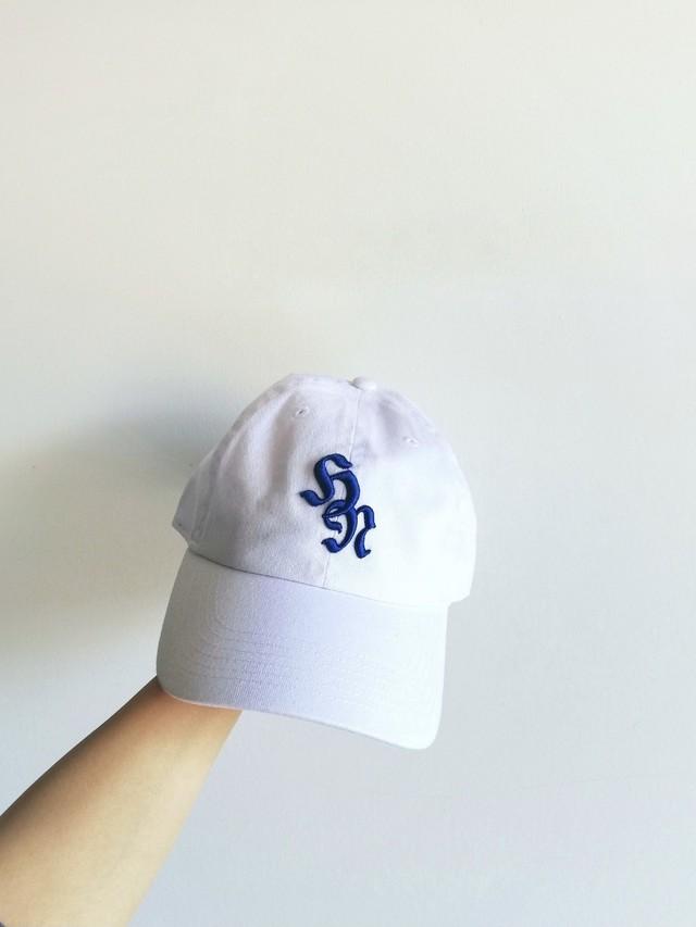 3D Baseball Cap / White