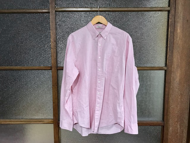 J.CREW STRETCH SECRET WASH SHIRT (PINK)