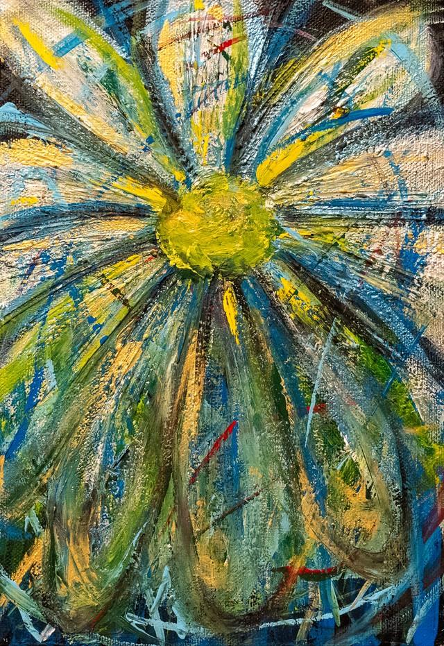 『 色づいた花 』