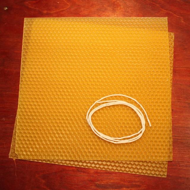 K-1S 蜜蝋キャンドル ねんど式手作りキット(濃い色Aタイプ・練り済み)