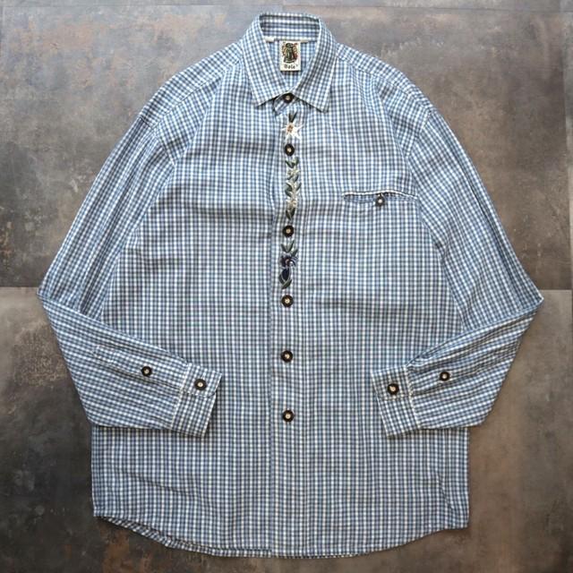 Tyrolean plaid design shirt