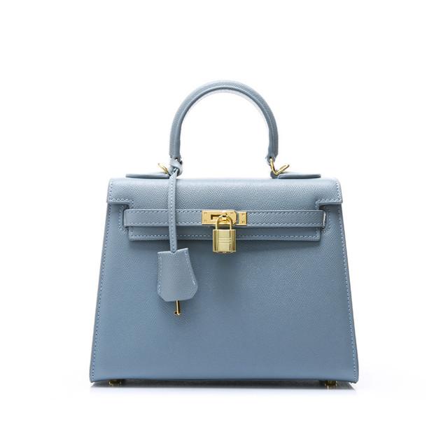 【予約商品】レディースキーハンドトートバッグ♡ライトブルー