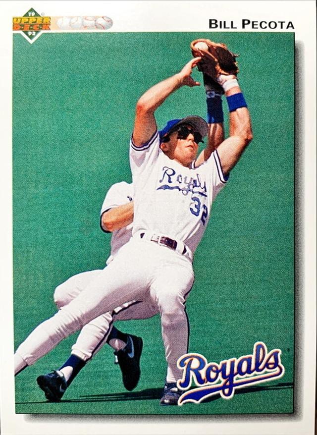 MLBカード 92UPPERDECK Bill Pecota #240 ROYALS