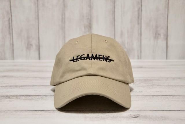 【simple logo cap】/ black
