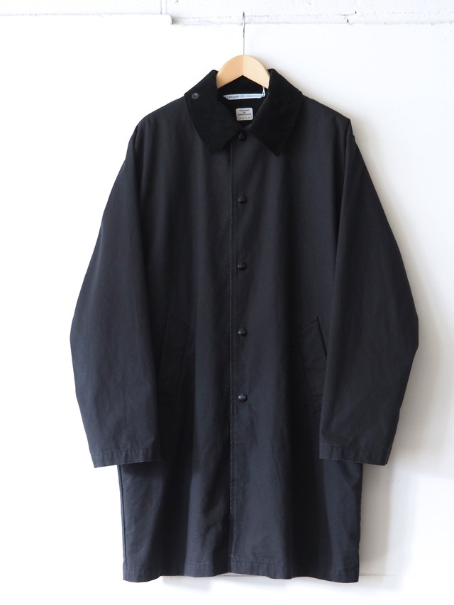 N.O.UN Coach Coat Black