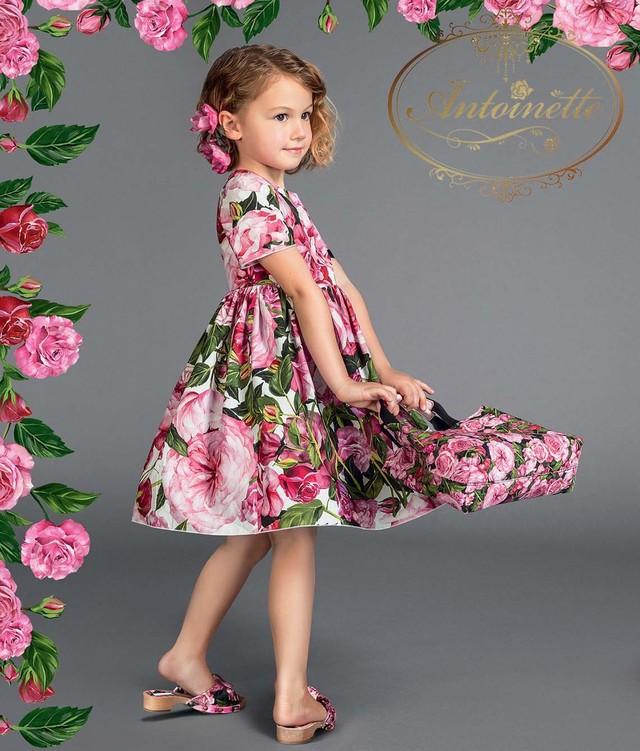 キッズ ワンピース ピンク  半袖 子供服 女の子 ワンピ  花柄 ドレス 子ども服 春 夏 110-160cm