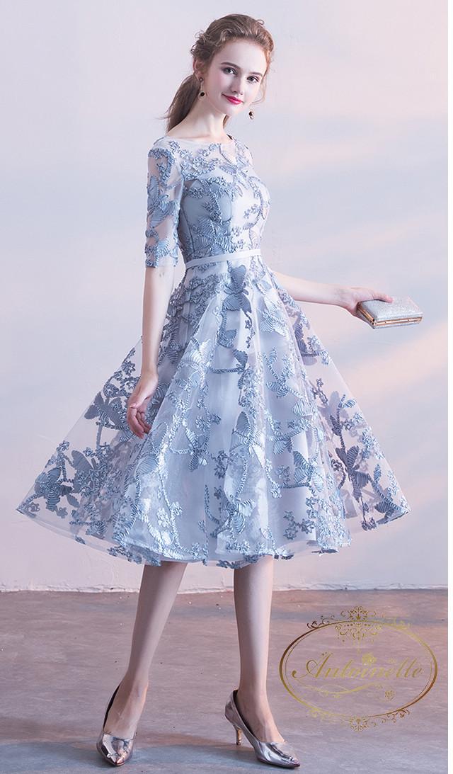 【予約商品】レッドルージュロングドレス
