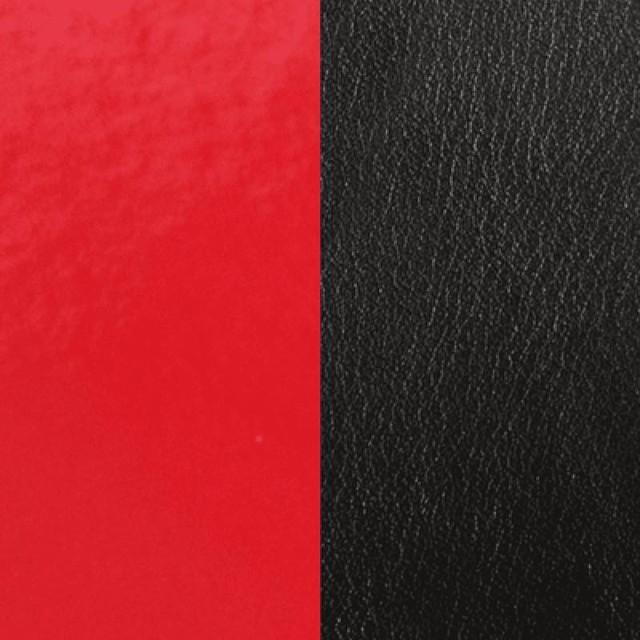 【レジョルジェット】40mmレザー エナメルレッド/ブラック
