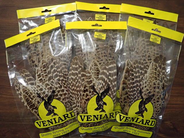 【 Veniard 】Hen Pheasant Complete Wings / ビニヤード社ヘンフェザントコンプリートウイング