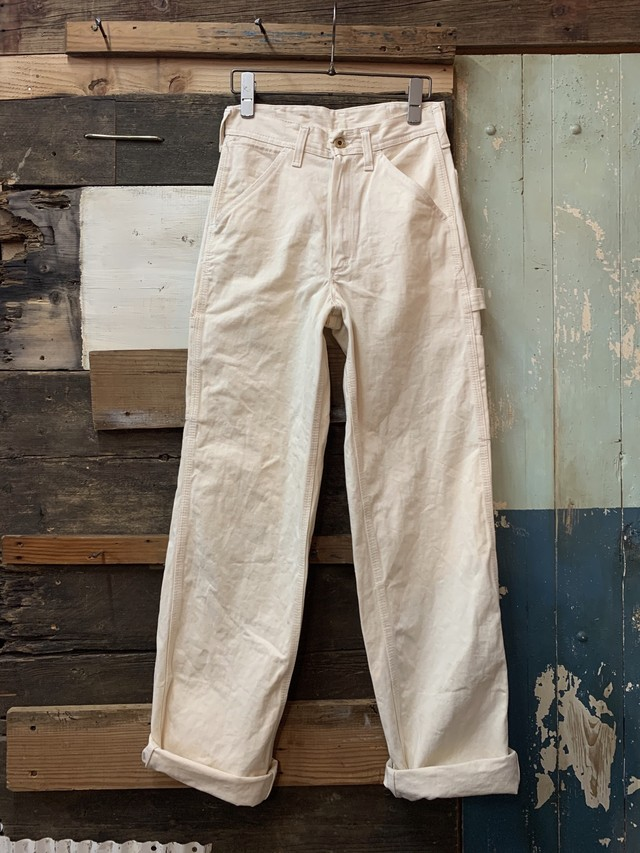 50-60's french work 'low back' overalls