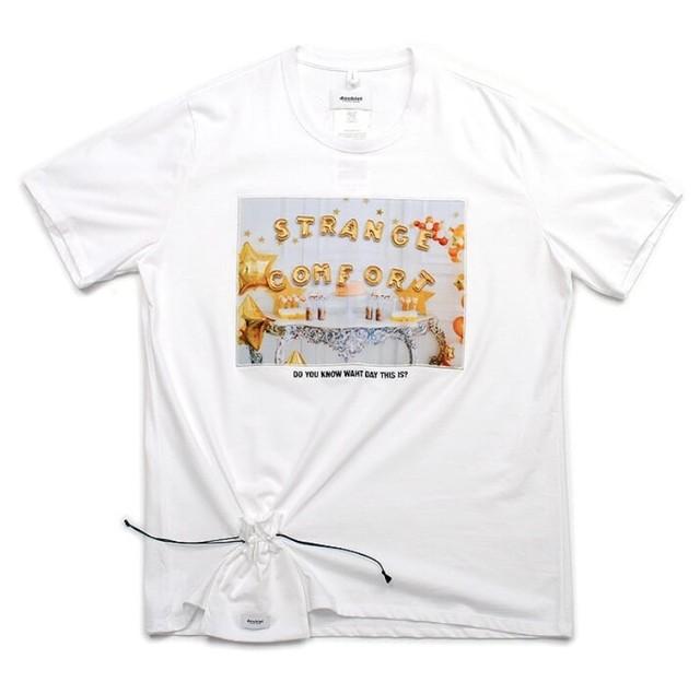 【doublet】《21SS》D.I.YアルファベットTシャツ 21SS22CS188