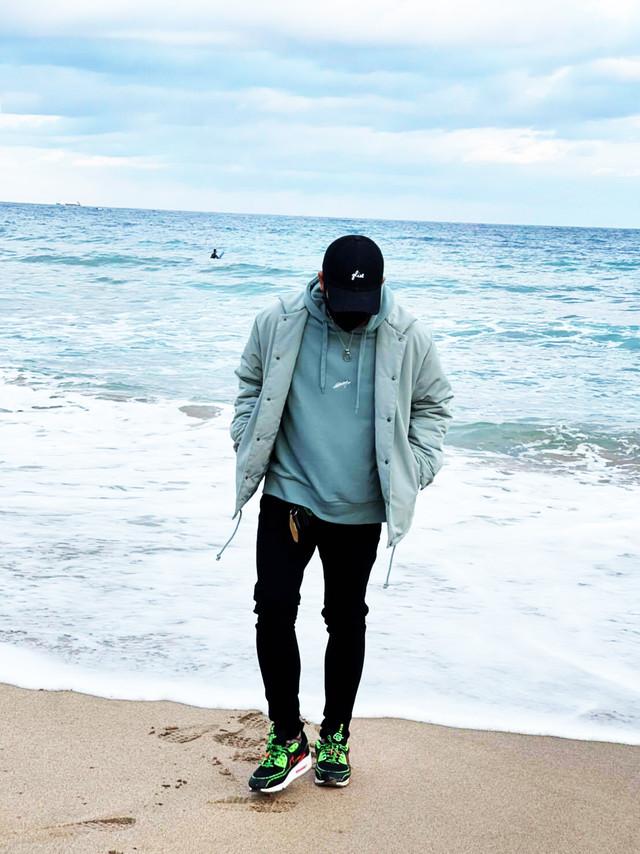 【少量入荷しました】【LAHM新作】LAHM WIDE SWEAT hoodie /ワイドスウェットフーディー LAHM (エルエーエイチエム)