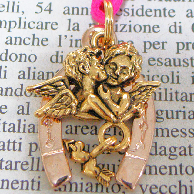 ◆幸運の馬蹄アクセサリー◆ 天使(てんし・テンシ)・エンジェル6 ファーストキス 「幸せと愛を運ぶ」
