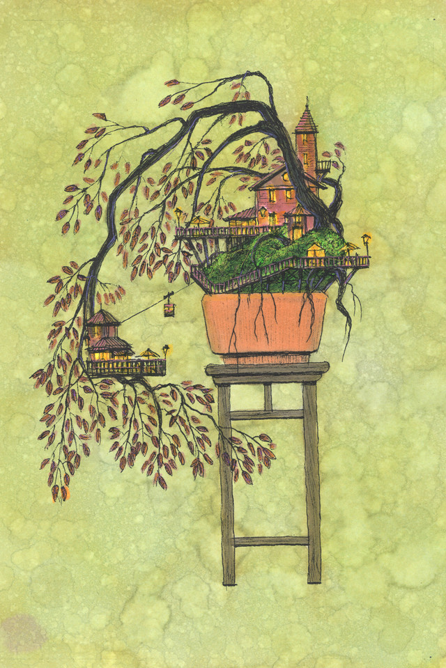 Takanori Aiba Bonsai-004 ジークレー版画