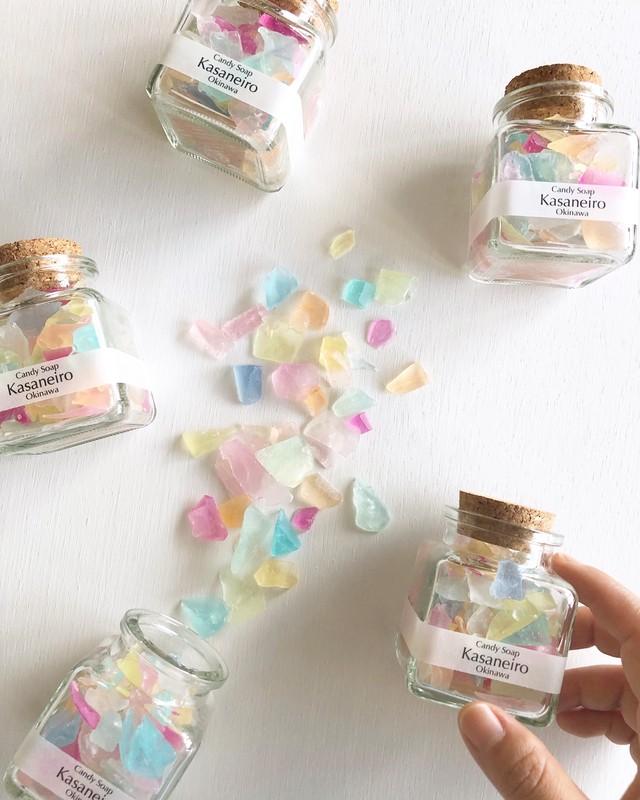 〈コルク瓶〉Candy Soap (ミックスカラー)