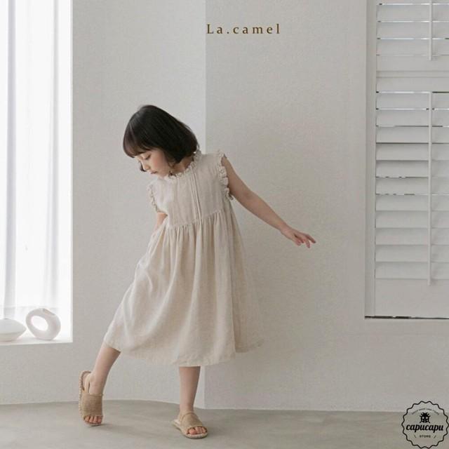 «予約» La camel lola one piece リネンワンピース