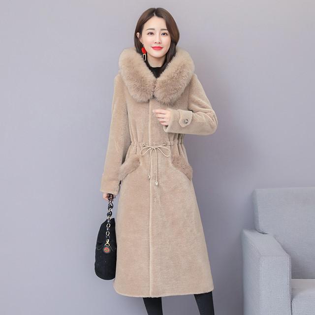 【outer】カシミヤコート上質フード付きロング丈4色展開