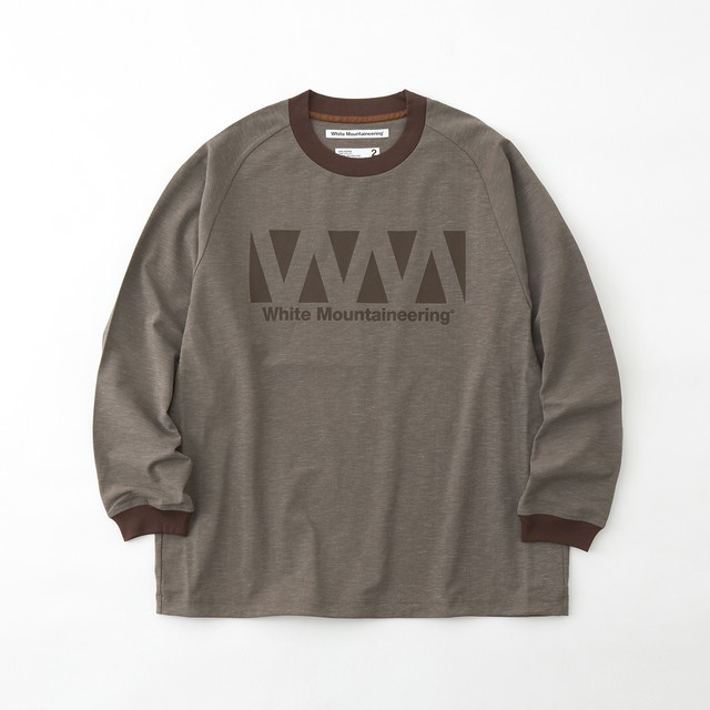 STRETCH PULLOVER LONG T-SHIRT - BEIGE