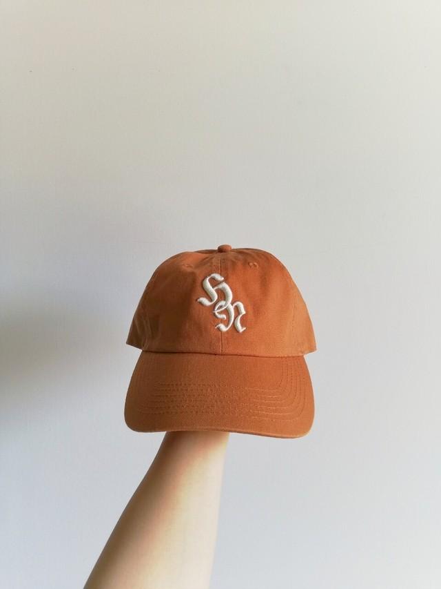 3D Baseball Cap / Terracotta