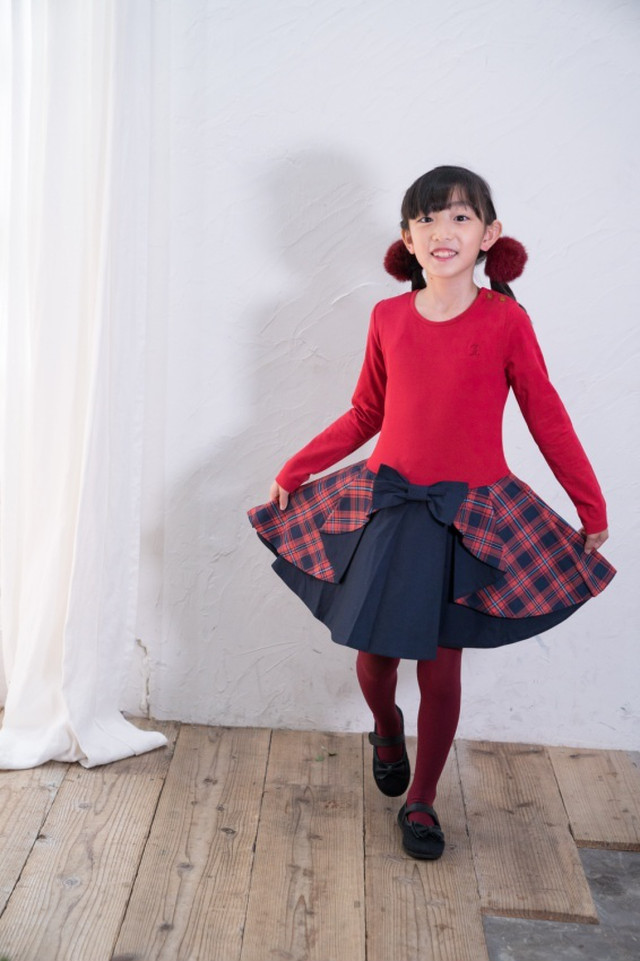⭐︎NEW⭐︎CHRISTINE DRESS RED TARTAN