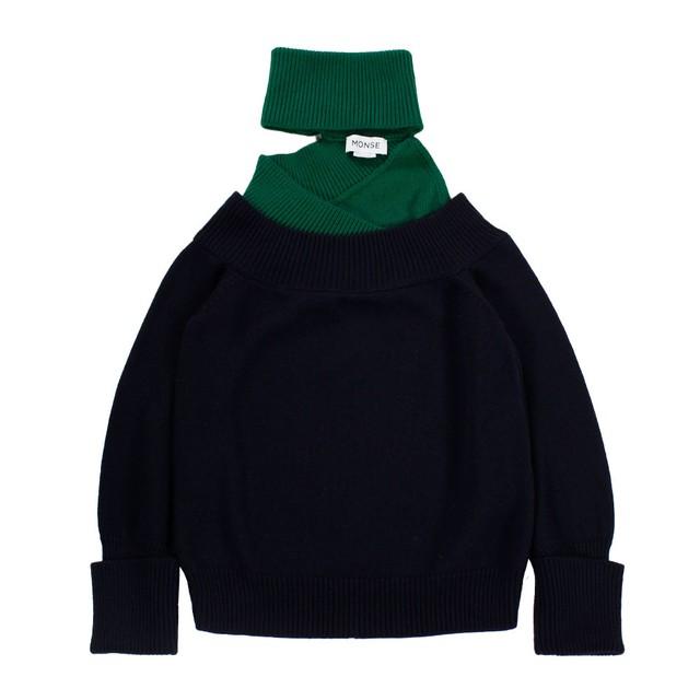 MONSE Off shoulder Knit SIZE;XS